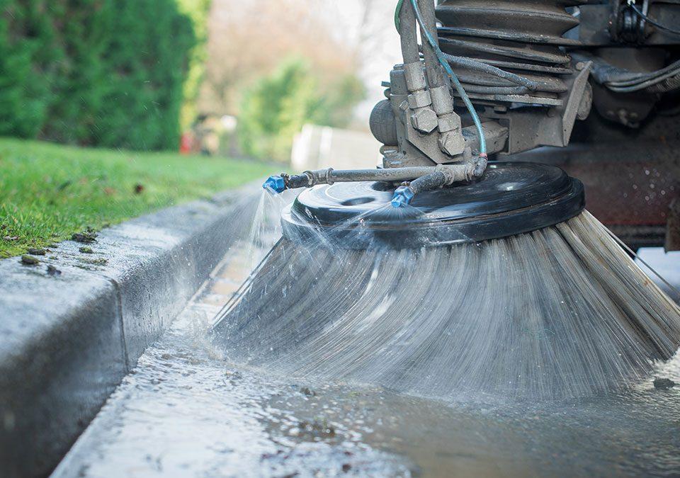 Machine à nettoyer les rues